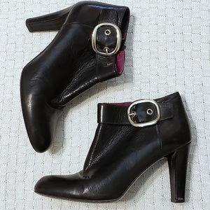 COACH Italian Leather Nicolete Bootie
